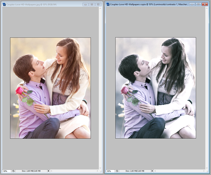 tutorial photoshop effetto cinematografico