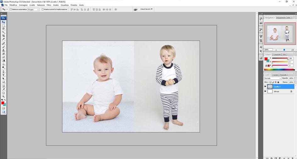 Come Unire Due Foto.Come Unire Due Foto Con Photoshop