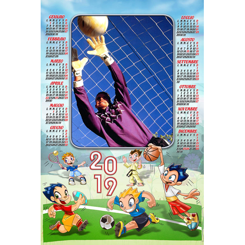 Atleti Calendario.Crea Il Tuo Calendario Personalizzato Calendario Atleti