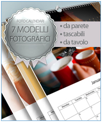 FotoCalendari 7 Modelli Qualità e Convenienza