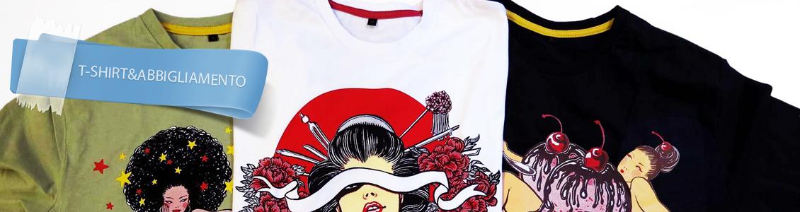 T-shirt&Abbigliamento